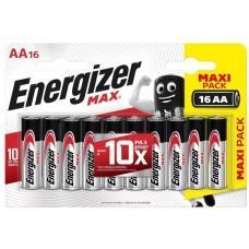 Батарейки Energizer MAX AA/LR6 1.5V - 16 шт.