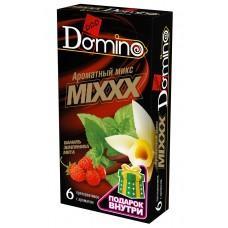 Ароматизированные презервативы DOMINO  Ароматный микс  - 6 шт.