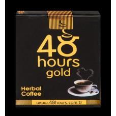 Возбуждающий растворимый кофе 48 hours gold - 20 гр.