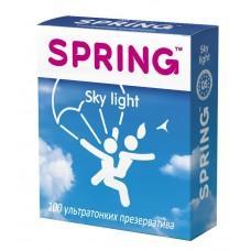 Ультратонкие презервативы SPRING SKY LIGHT - 100 шт.