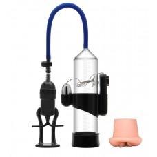 Вакуумная помпа Erozon Penis Pump с вибрацией и вставкой-вагиной