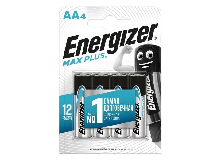 Батарейки Energizer MAX PLUS LR6/E91 AA 1.5V - 4 шт.