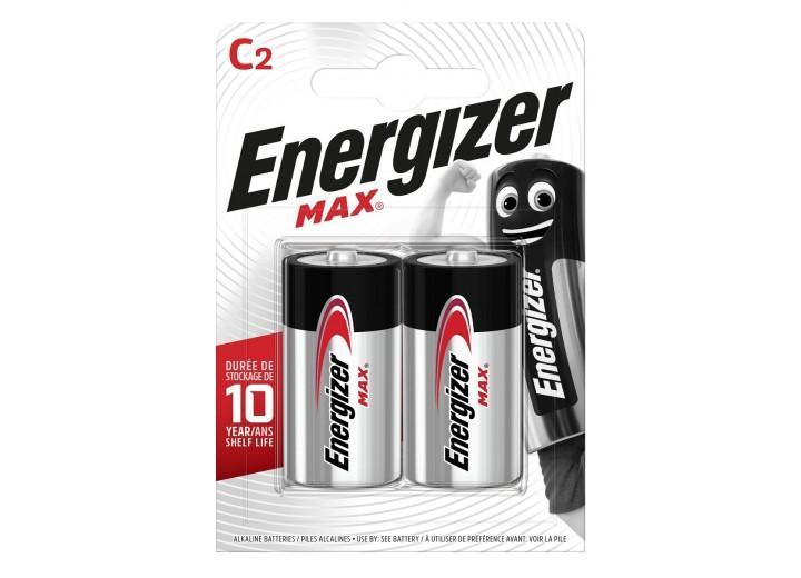 Батарейки Energizer MAX E93/C 1.5V - 2 шт.